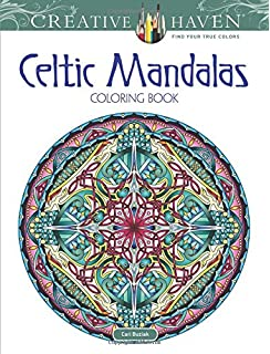 Creative Haven Celtic Mandalas Coloring Book Books