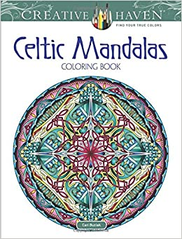 amazoncom creative haven celtic mandalas coloring book creative haven coloring books 0800759814237 cari buziak books - Celtic Coloring Book