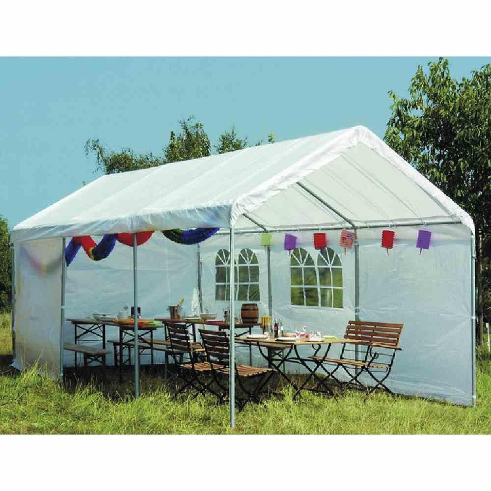 Siena Garden 556369 Partyzelt, inklusive  Dach, 38 mm Rohre, inklusive  Giebeln und Seitenteilen L 600 x B 300 cm