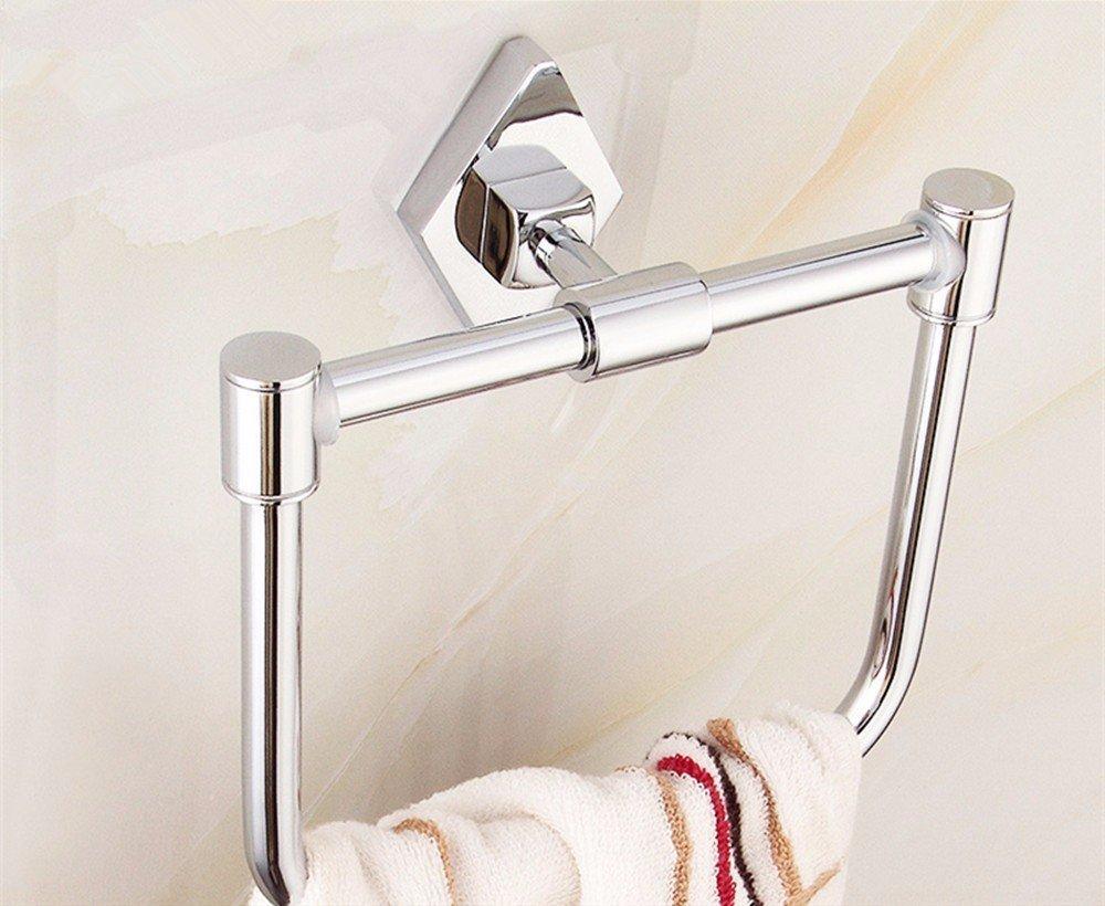 HOMEE Simple European Style Bathroom Towel Ring Kitchen Bathroom Rack Towel Rack,40cm by HOMEE
