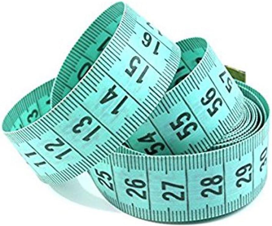 Pegcduu 150cm//60 Body Measuring Ruler Sewing Tailor Tape Measure Soft MeasureBody Measuring Flat
