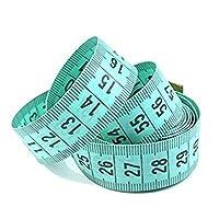 """Bobury 150cm / 60 """"Body Measuring Ruler Couture Tailor Mesure à ruban Soft Flat (couleur aléatoire)"""