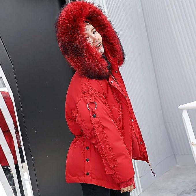 BOOMJIU Women Warm Fluffy Winter Coat Hoodie Tops Ladies Hooded Jacket Cardigan Outwear