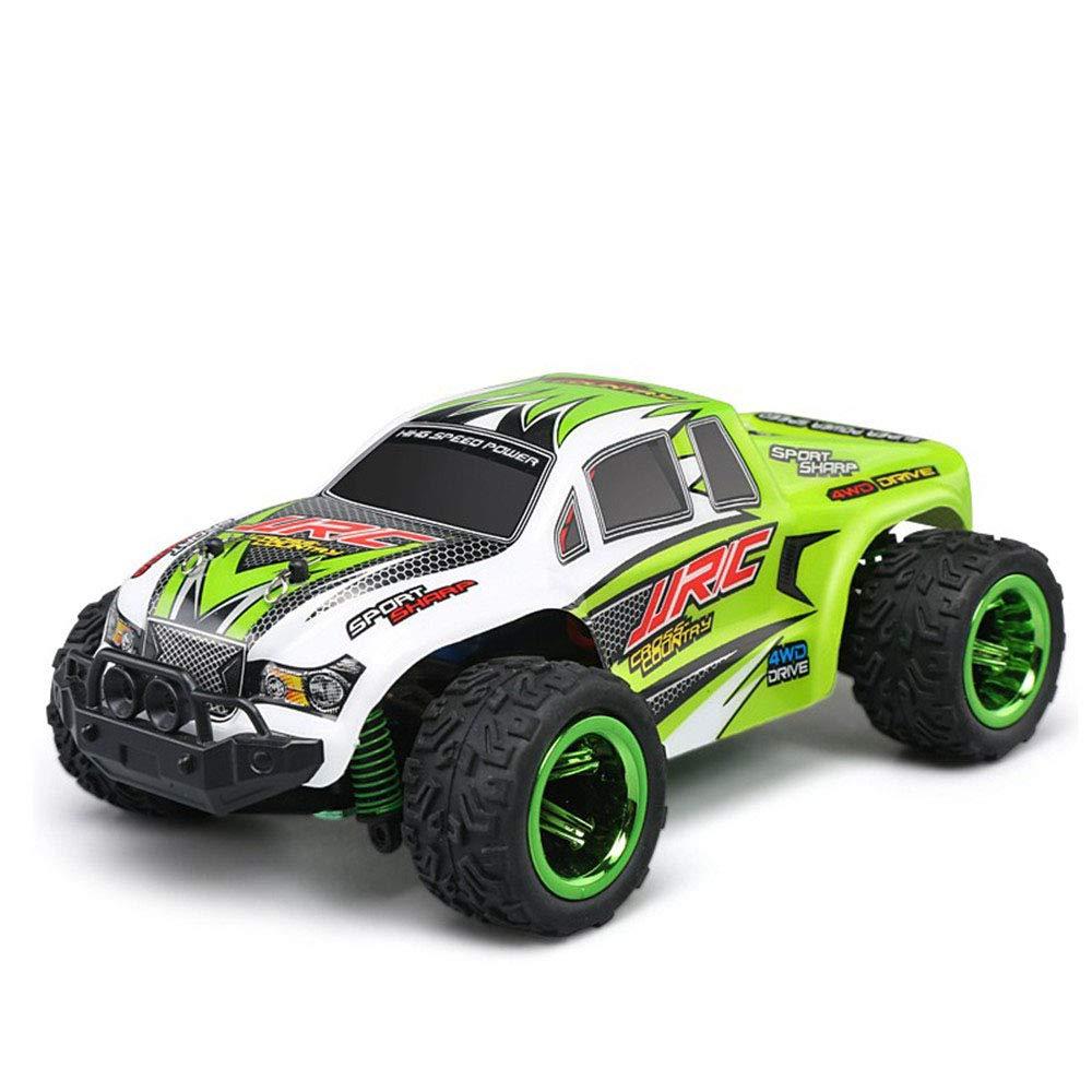 RC車1:26ビッグフットRCカーオフロード2.4G 30km / h高速リモートマウンテンバイクおもちゃRCレース子供クリスマスの誕生日プレゼント,Green B07KX11622 Green