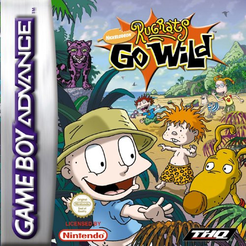 Rugrats Go Wild Games (The Rugrats Go Wild (GBA))