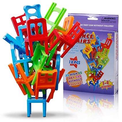 Amazon.com: Eshylala - Sillas de juguete para niños, 18 ...
