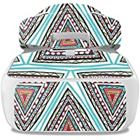 Skin For DJI Goggles – Aztec Pyramids | MightySkins Protective, Durable, and Unique Vinyl Decal wrap cover | Easy To Apply, Remove, and Change Styles | Made in the USA