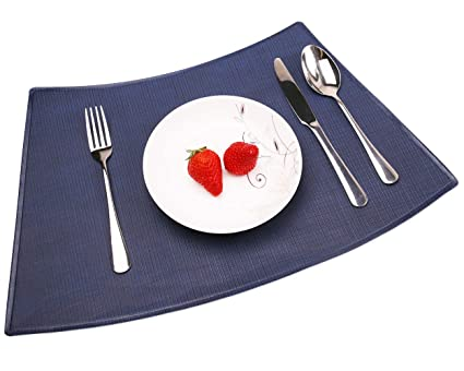 Pattern For Placemats For Round Table.Amazon Com Convetu Placemats For Round Tables Pms04 Table