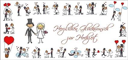 Divertido boda tarjeta (10653) con sobre: Rahmenlos ...