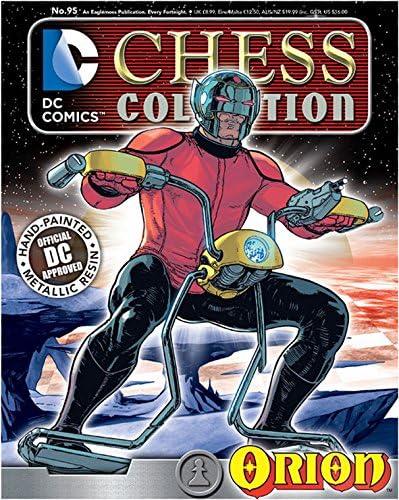 Eaglemoss DC Comics Chess Figure /& Magazine #95 Orion White Pawn