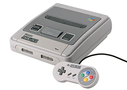 Super Nintendo Entertainment System Console: Amazon co uk: PC
