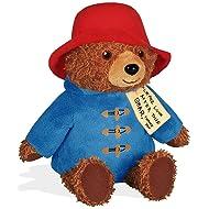 """YOTTOY Paddington Bear Teddy Bear Stuffed Animals 6.5"""" Official Paddington 2 Movie Bear & Book"""