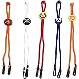 5 piezas de cordón de longitud ajustable, práctico y conveniente soporte y percha de seguridad, cómodo alrededor del…