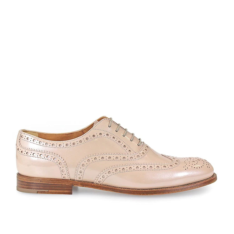 Zapato Cordones Burwood 3 W Rosa Charol Church's 40 EU