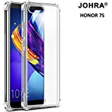 Johra® Protective Soft Transparent Shockproof Hybrid Protection Back Case Cover for Huawei Honor 7S
