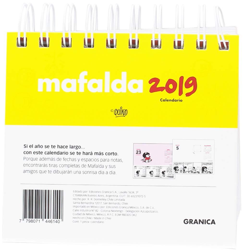Granica GB00108 - Mafalda 2019 calendario escritorio: Amazon ...
