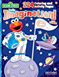 Sesame Street: I Is For Imagination Color and Sticker Activity Book