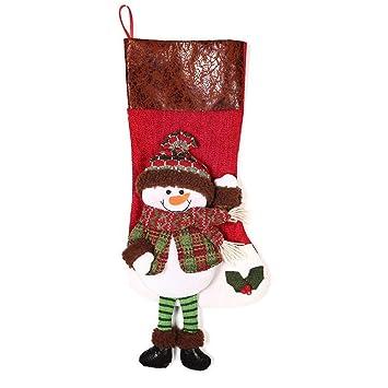 Xiuxiu El Bolso del Regalo De Los Calcetines De La Navidad, Bolso del Caramelo,