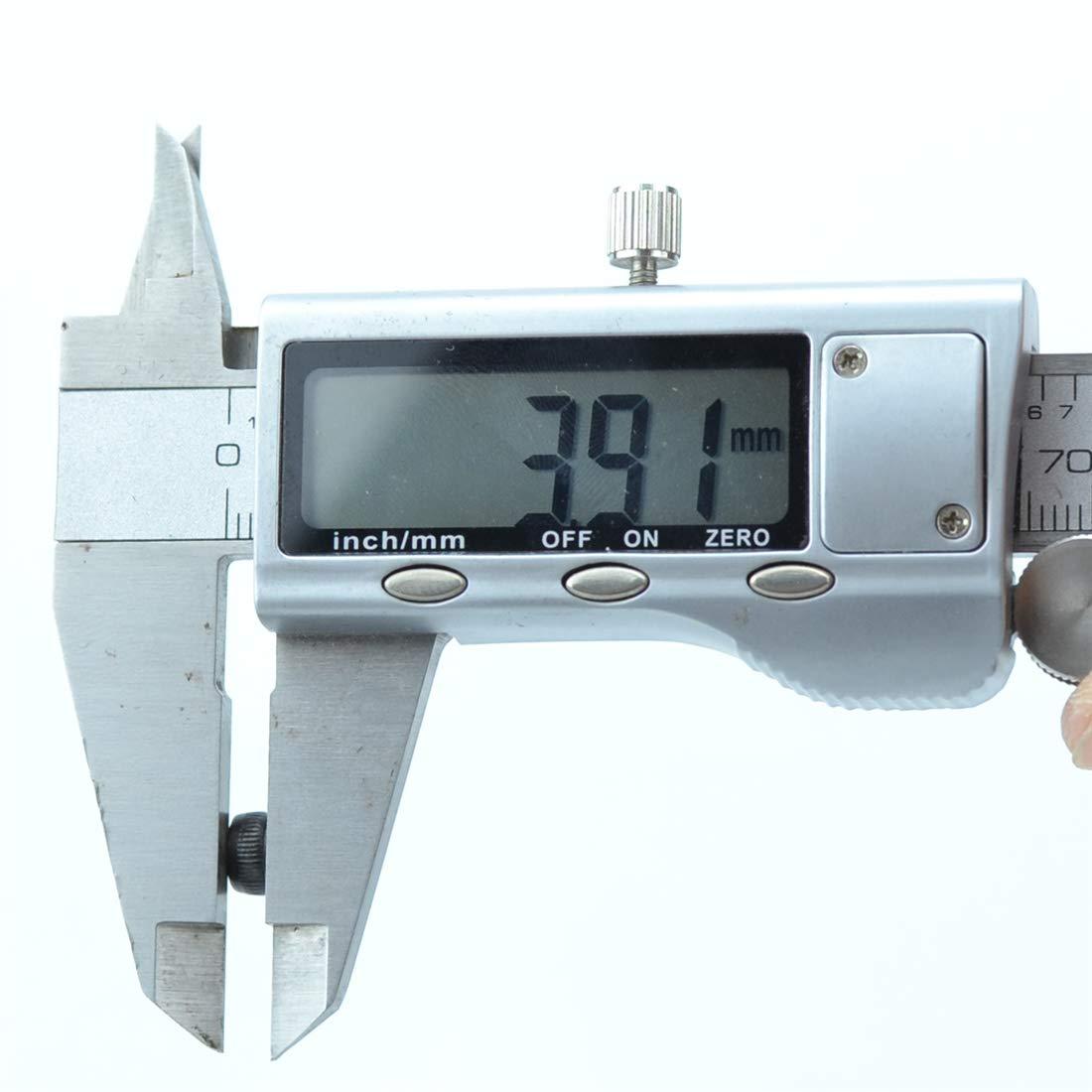 10pcs xunliu Grade 14,9/Legierung Stahl scm440/Zylinder Innensechskant Kopf ger/ändelt Gap Schraube Schwarz M3X60