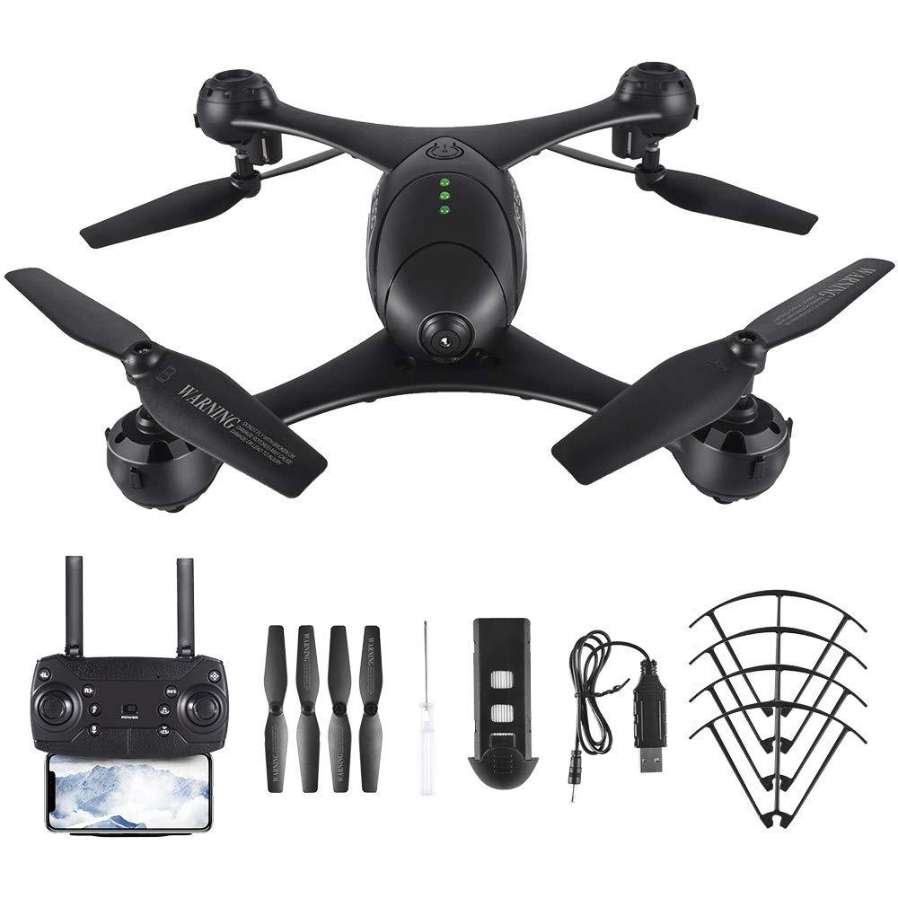 HKFV RC Quadcopter KF600 2.4G Drohne Höhenstand 720P WiFi FPV GPS-Drohnen-Quadcopter