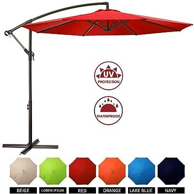 MUCHENGHY 10ft Patio Umbrella