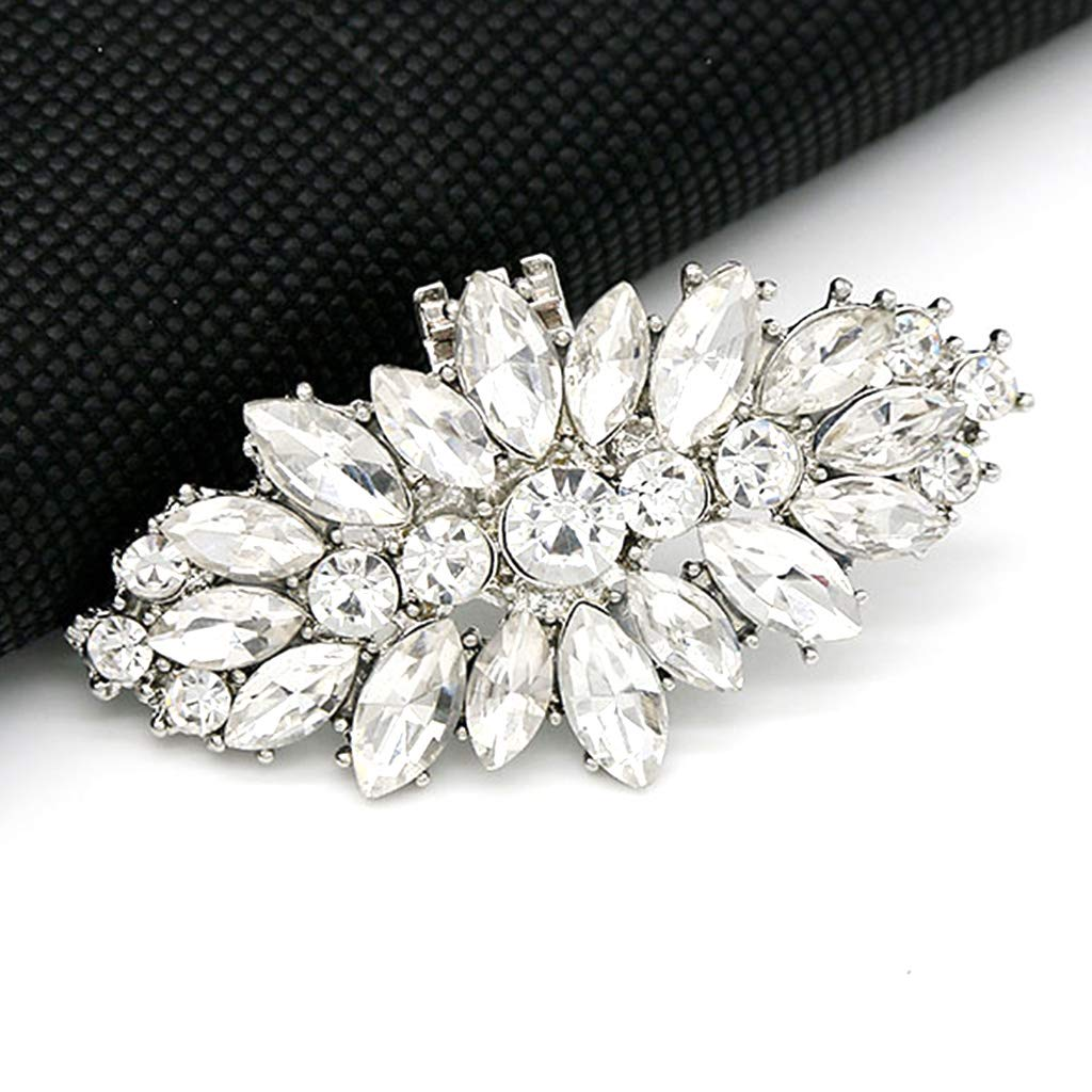 BINGHONG3 Shoe Clip DIY Rhinestone Decoration Women High Heels Bag Dress Hat Accessories Wedding Fashion Buckle Clips Elegant