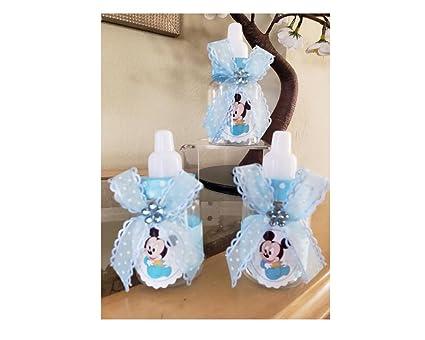 Amazon.com: Juego de 12 botellas de Mickey Mouse para bebé ...