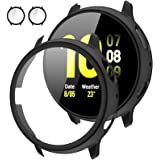 [2Pack] Tensea Compatible with Samsung Galaxy Watch Active 2 Screen Protector Case 40mm, Bumper Full Around Cover for Samsung