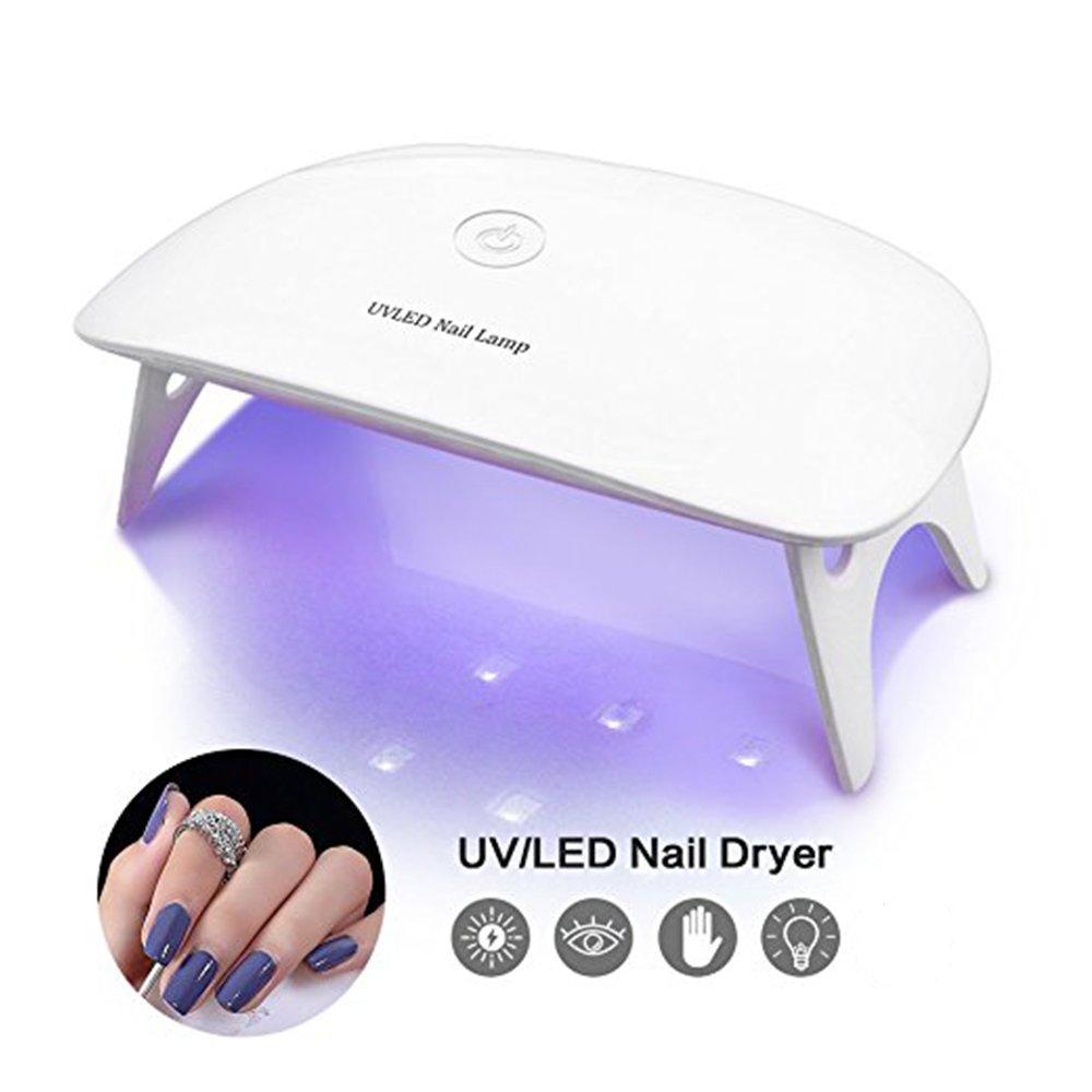 Amazon.com : BRIGHTINWD Pocket Size Mini UV Nail Lamp Starter for ...