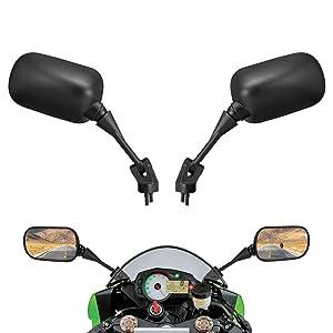Motorcycle Rear View Mirrors fits Kawasaki Ninja ZX 10R ZX6R 636 ZX-6R ZX6RR 2005-2008 ZX-10R 2004-2010