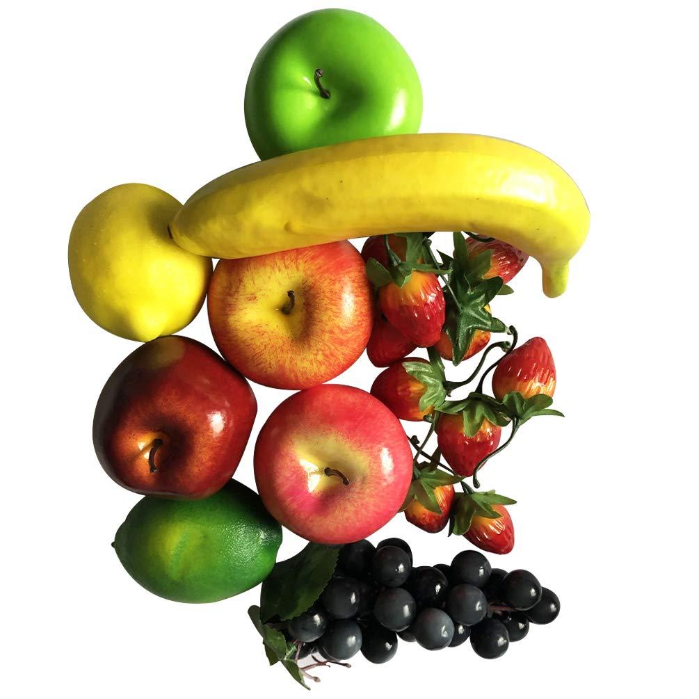 la f/ête de No/ël la Cuisine Swesy Faux Fruits artificiels r/éalistes en Mousse d/écorative r/éaliste pour la Maison