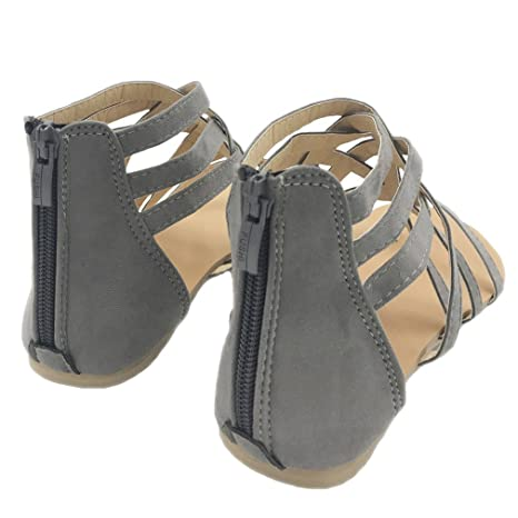 9d3ba56345ad SUKULIS Flats Summer Women s Sandals New Fashion Casual Shoes For Woman  European Rome Style Sandalias Grey