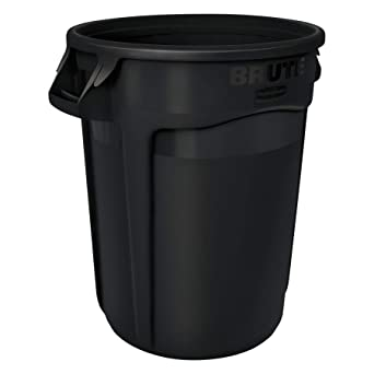 8850675c02d Rubbermaid Commercial Products 1926827 Brute Heavy-Duty Round Trash Garbage  Can