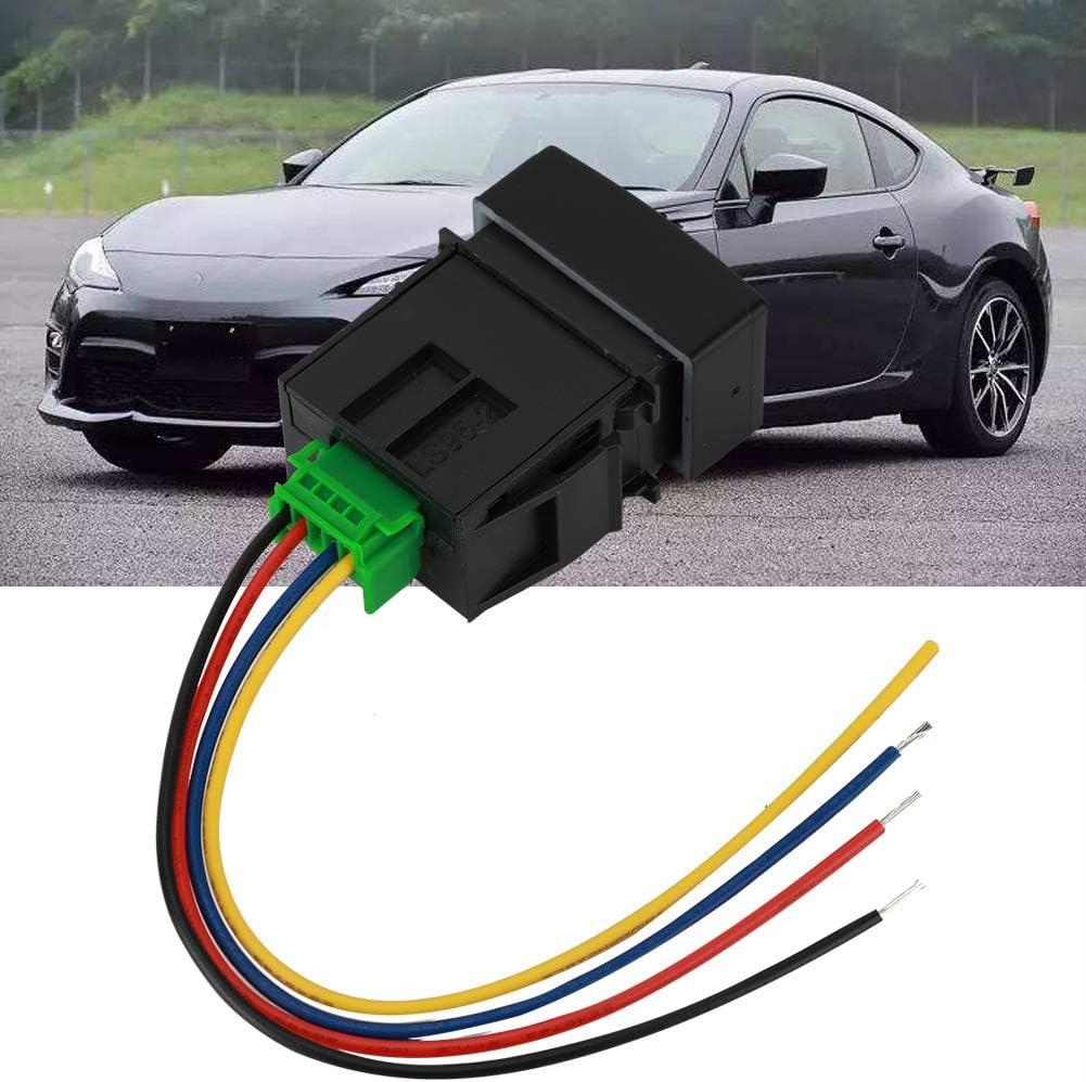 Duokon 12mm Interruptor moment/áneo del coche del LEDBot/ón del anillo de goma 12v Azul
