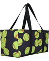 lo lord Baseball Tote Bag Utility Weekender Tote Open Top Extra Large Beach Tote Perfect for Travel Pool Beach and Car Organizer