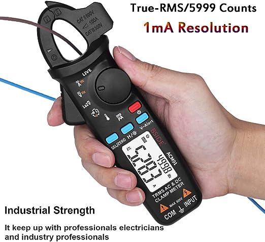 Digital Earth resistance measure CM-2016 DC Clamp Meter Mult/ímetro digital con mult/ímetro de alta precisi/ón