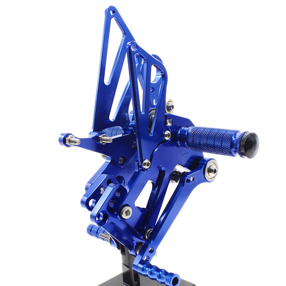 Motorcycle Rearsets Rear Foot Pegs CNC Rear set Footrests Fully Adjustable Rear Foot Boards Fit for DUCATI STREETFIGHTER 848 1100 Red