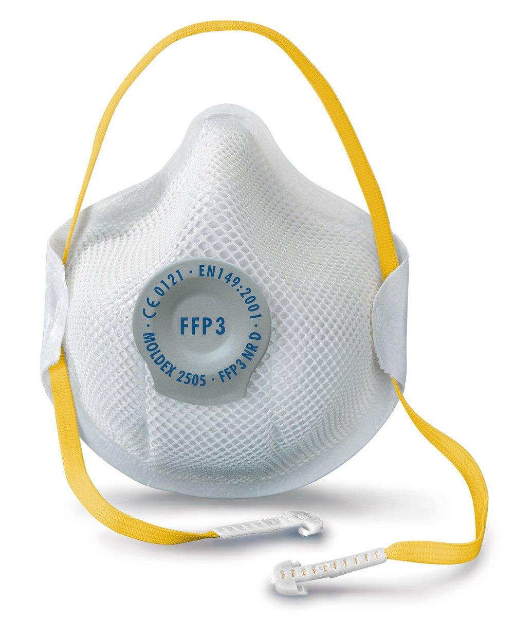 Moldex Saf6418/2505/Smart FFP3/Valve respiratoire lot de 10