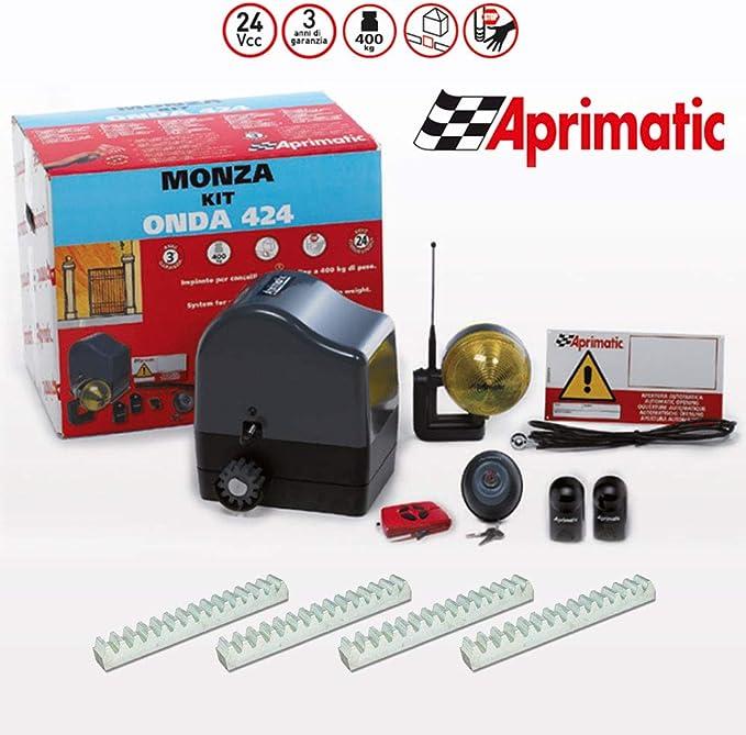 Kit de automatización para puertas correderas Aprimatic Kit Monza ...