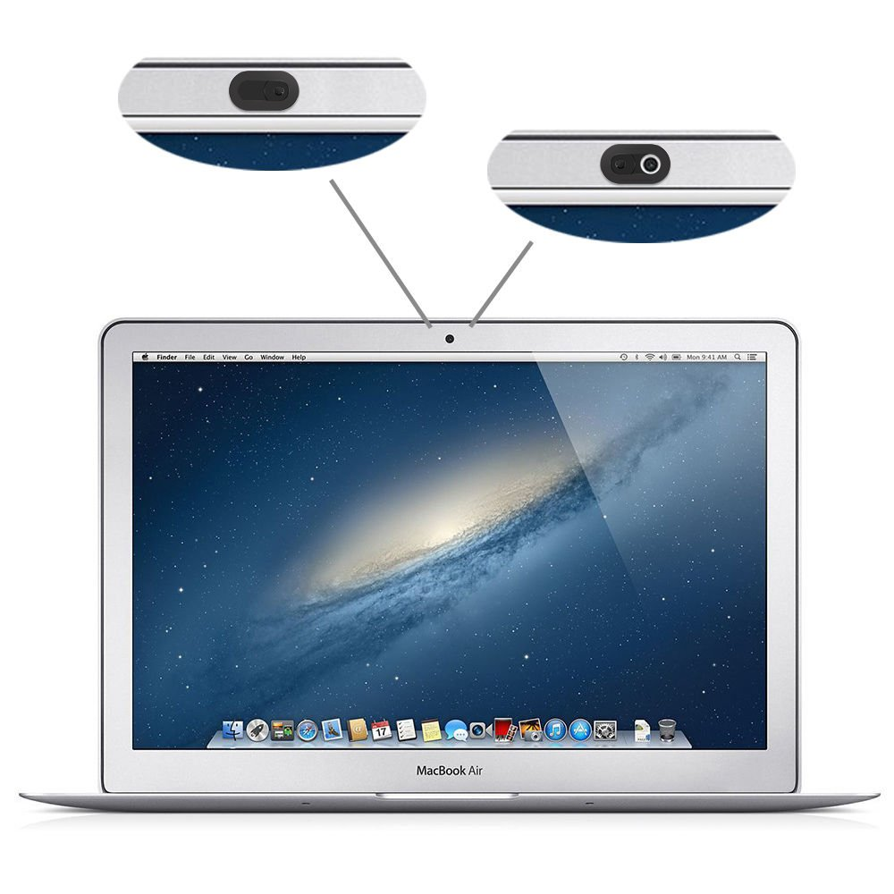 Metal Slider Web Camera Cover Siver 3 Pack for Laptop MacBook Pro iMac Mac Mini PC Computer Tablet Smartphone Smart TV with Slider for Privacy and Security Against Cam Hacks Webcam Cover