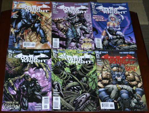 DC Comics Batman THE DARK KNIGHT #1-6 The new 52 First Prints