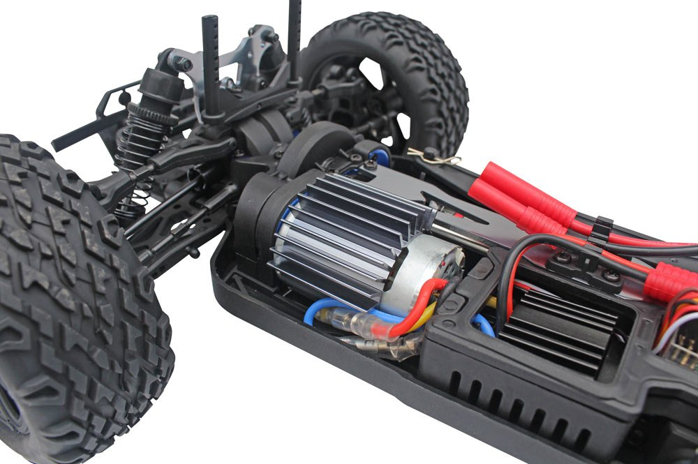 Redcat Racing Blackout XTE 1/10 Scale Electric Monster Truck with Waterproof Electronics, Red by Redcat Racing (Image #9)