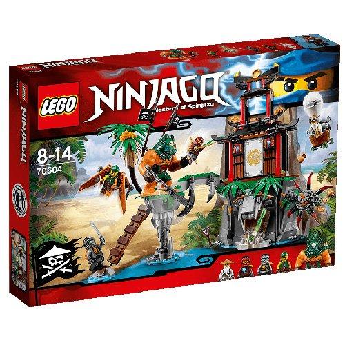 9 opinioni per LEGO Ninjago 70604- Isola di Tiger Widow