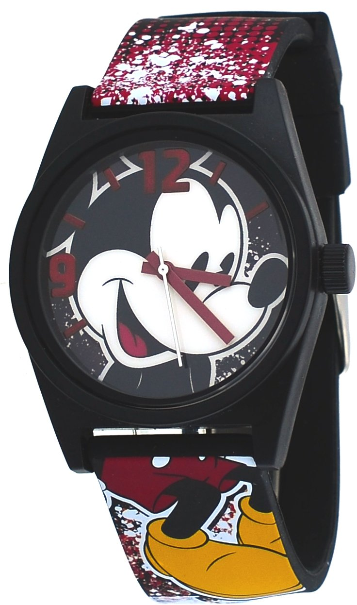 Disney #MCK1574 Mickey Mouse News Print Silicone