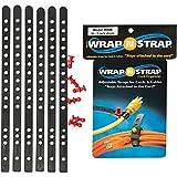 Wrap-N-Strap 9 In. 6-Pack Black