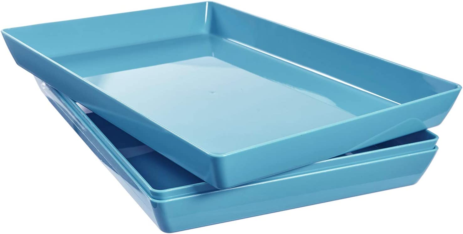 "Avant 15"" x 10"" Plastic Serving Tray 