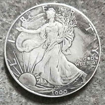 BoBoLing Best Morgan US Dollars-1900 Old Coin Collecting-US Dollar USA Old  Original Pre Morgan Dollar Goods