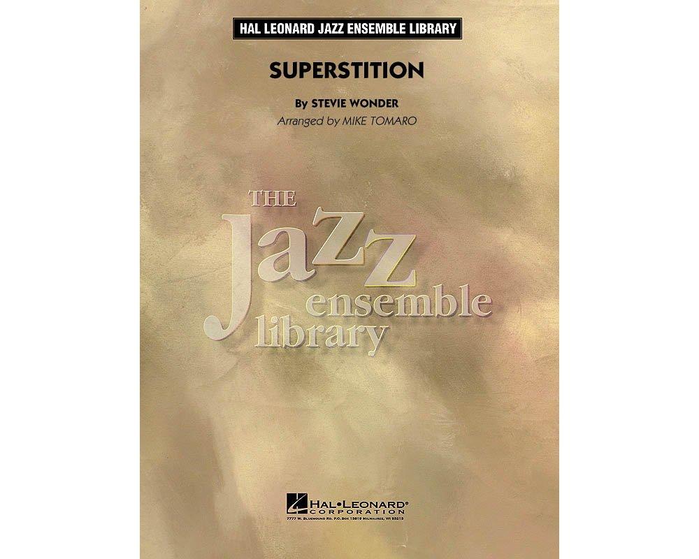 Download Hal Leonard Superstition Jazz Band Level 4 by Stevie Wonder Arranged by Mike Tomaro pdf epub