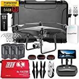 DJI Phantom 4 PRO+ (Plus) Obsidian Executive Kit V2.0 w/ Nanuk 950 Wheeled Case, 3 Batteries, Thor Charger, CF Props & Guards, Filters, 64GB Card & More