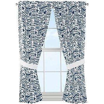 NFL Dallas Cowboys U0026quot;Anthemu0026quot; Window Curtain Panel ...